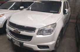 White Chevrolet Trailblazer 2016 at 43000 km for sale