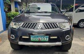 Sell Grey 2012 Mitsubishi Montero Sport in Parañaque