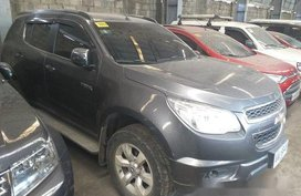 Sell Grey 2014 Chevrolet Trailblazer Automatic Diesel at 170000 km in Makati