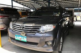 Grey Toyota Fortuner 2014 at 48000 km for sale