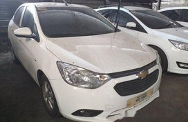 White Chevrolet Sail 2017 Automatic Gasoline for sale in Makati