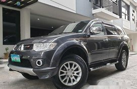 Sell Grey 2014 Mitsubishi Montero Sport in Quezon City