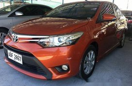 Sell Orange 2015 Toyota Vios Automatic Gasoline at 50000 km
