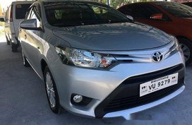 Silver Toyota Vios 2017 for sale in Parañaque