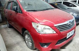 Sell Red 2014 Toyota Innova Manual Gasoline at 66000 km in Makati