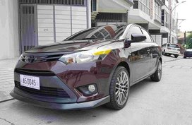 Selling Red Toyota Vios 2018 at 14000 km in Quezon City