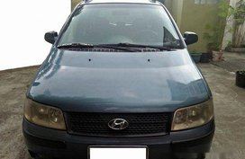 Selling Blue Hyundai Matrix 2006 Manual Diesel at 50000 km