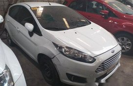 White Ford Fiesta 2016 Automatic Gasoline for sale in Makati