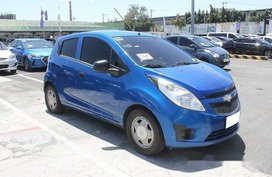 Selling Blue Chevrolet Spark 2012 at 67081 km in Muntinlupa