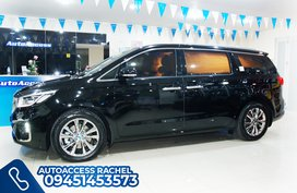 Black Facelifted Kia Carnival Platinum G6 Noblesse 2020 for sale in Quezon City