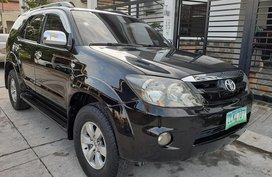 Sell Black 2008 Toyota Fortuner Automatic Diesel