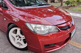Red 2006 Honda Civic Sedan for sale in Pampanga