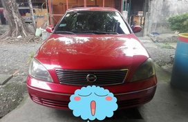 Red Nissan Sentra 2004 Automatic at 100000 km for sale