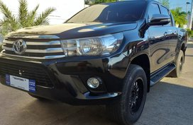 Black 2016 Toyota Hilux Truck for sale in Isabela