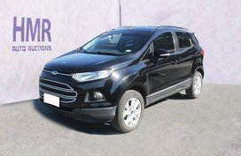 Selling Black Ford Ecosport 2018 Manual Gasoline in Muntinlupa