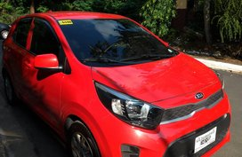 Red 2018 Kia Picanto Hatchback at 6000 km for sale