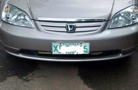 Selling Honda Civic 2002 Sedan at 140000 km in Quezon City