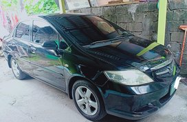 Black Honda City 2006 at 72000 km for sale