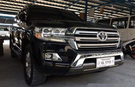 Selling Black Toyota Land Cruiser 2017 at 47000 km in Parañaque