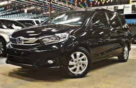 Black 2018 Honda Mobilio at 10000 km for sale in Quezon City