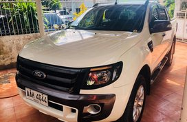 2nd Hand 2015 Ford Ranger at 49000 km for sale in Davao City