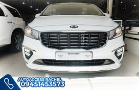 White Facelifted Kia Carnival Noblesse 2020 for sale in Quezon City