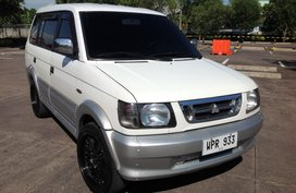 White Mitsubishi Adventure 2000 for sale in Lucena