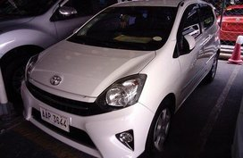 White Toyota Wigo 2014 for sale in Marikina