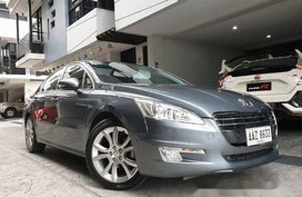 Grey Peugeot 508 2014 at 5000 km for sale