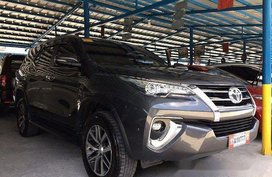 Selling Grey Toyota Fortuner 2018 Automatic Gasoline at 9000 km in Parañaque