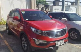 Sell Red 2015 Kia Sportage at 50000 km