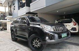 Black Toyota Land Cruiser Prado 2011 Automatic Gasoline for sale