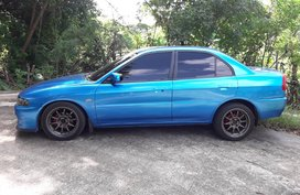 Blue Mitsubishi Lancer 1997 for sale in Cainta