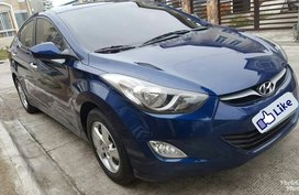 Blue Hyundai Elantra 2011 at 75000 km for sale