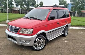 Red Mitsubishi Adventure 2003 for sale in Manila