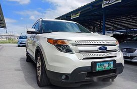 White Ford Explorer 2012 Automatic Gasoline for sale