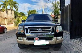 Black Ford Explorer 2007 for sale in Angeles