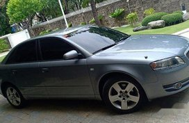 Grey Audi A4 2006 at 65000 km for sale
