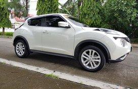 White Nissan Juke 2016 Automatic Gasoline for sale in Manila
