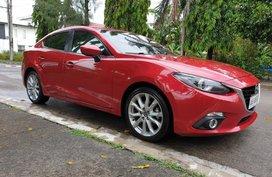 Red Mazda 3 2014 Automatic Gasoline for sale in Manila