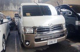 White Toyota Hiace 2017 Van for sale in Manila