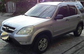 Silver Honda Cr-V 2001 for sale in Manila