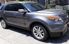 Sell Grey 2013 Ford Explorer in Manila