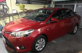 Selling Red Toyota Vios 2014 at 41000 km