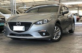 Silver 2015 Mazda 3 Sedan Automatic Gasoline for sale