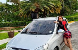 Silver Hyundai Getz 2007 for sale in San Juan