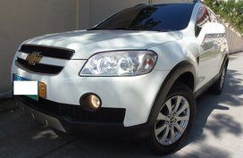Selling White Chevrolet Captiva 2012 Automatic Diesel