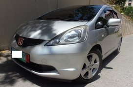 Silver 2010 Honda Jazz Hatchback for sale in Quezon City