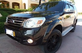 Sell Black 2015 Ford Everest in Quezon City
