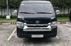 Sell Black 2018 Toyota Hiace at 11000 km in Makati